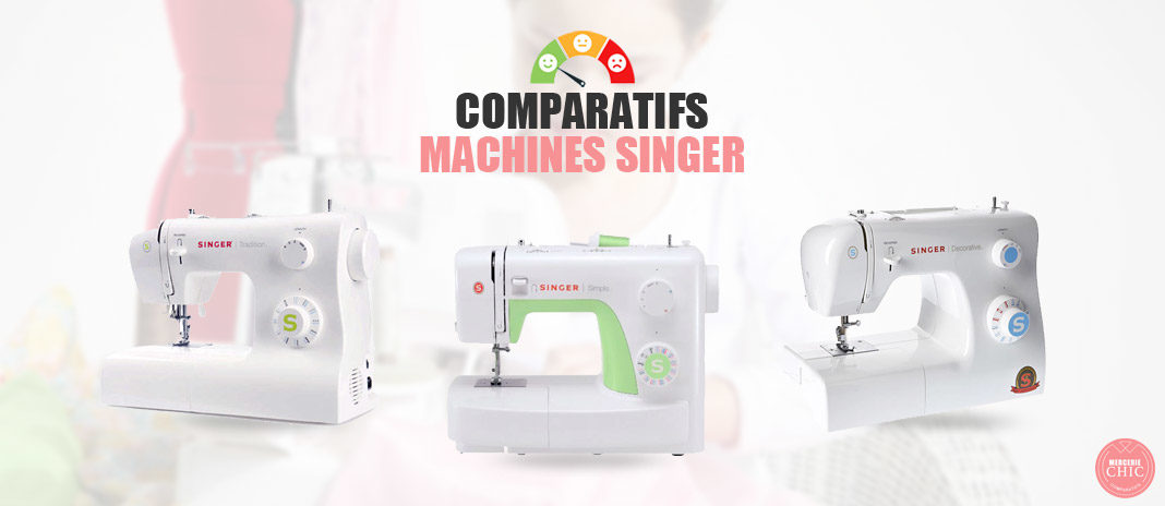 comparatifs machines singer