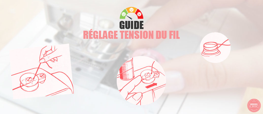 guide reglage tension fil