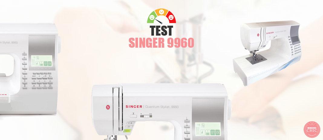 test machine singer 9960