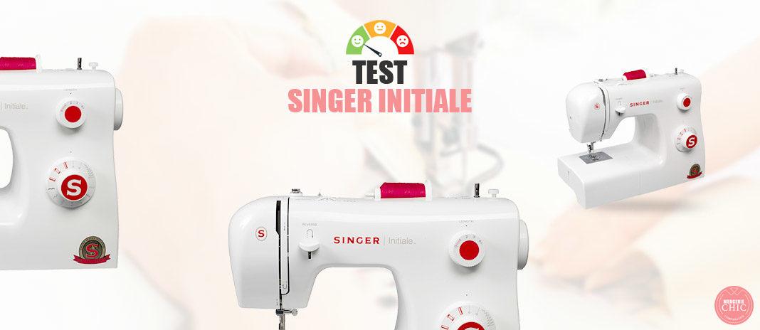 test singer initiale