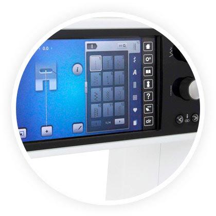Ecran LCD Bernina 880