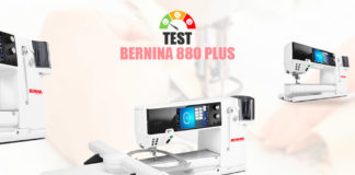 Test Bernina 880 Plus