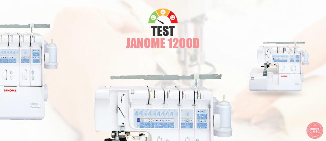 test Janome 1200 D