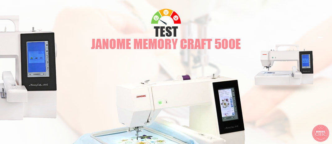 test janome craft 500e