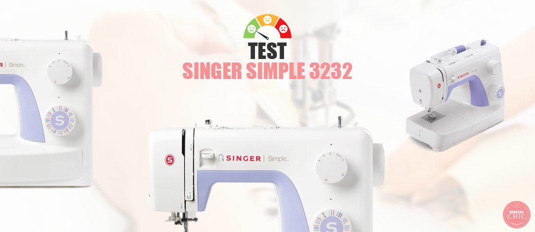 test singer simple 3232