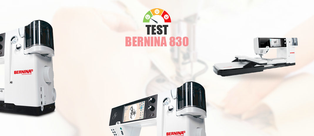 test bernina 830