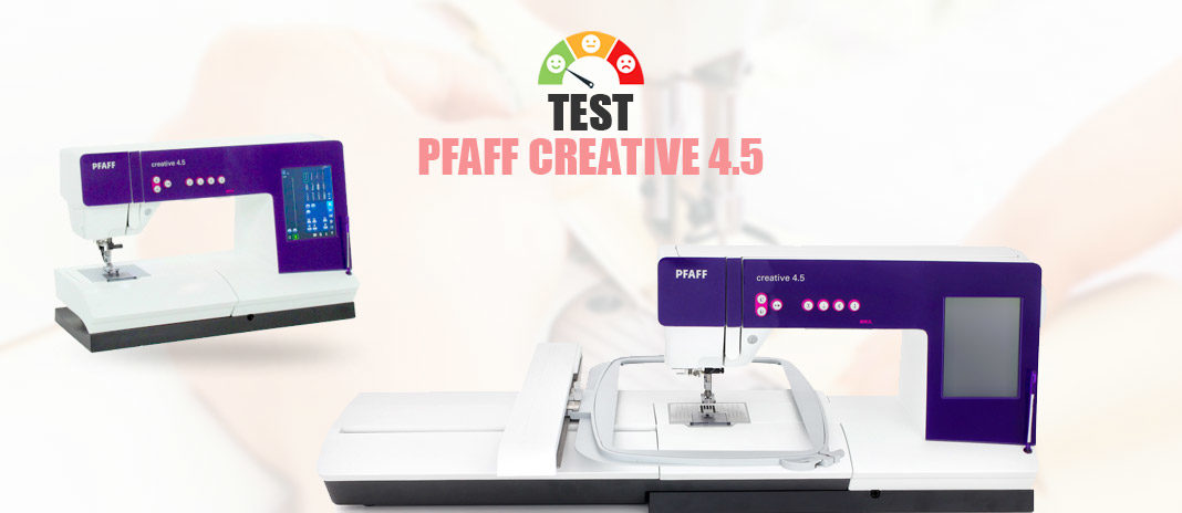 test pfaff creative 4.5