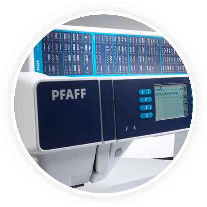 Atouts machine Pfaff 3.5