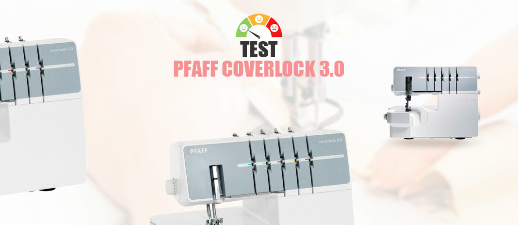 Test Pfaff Coverlock 3.0