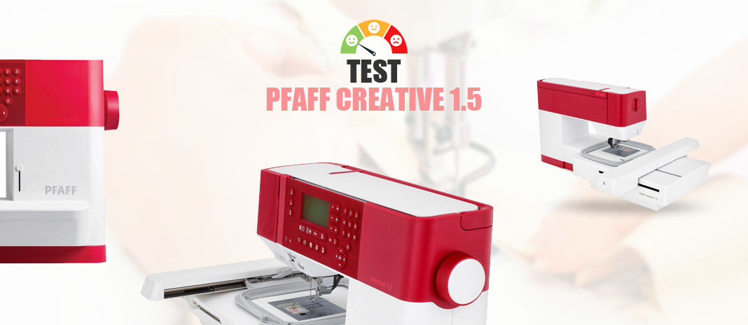 Test Pfaff Creative 1.5