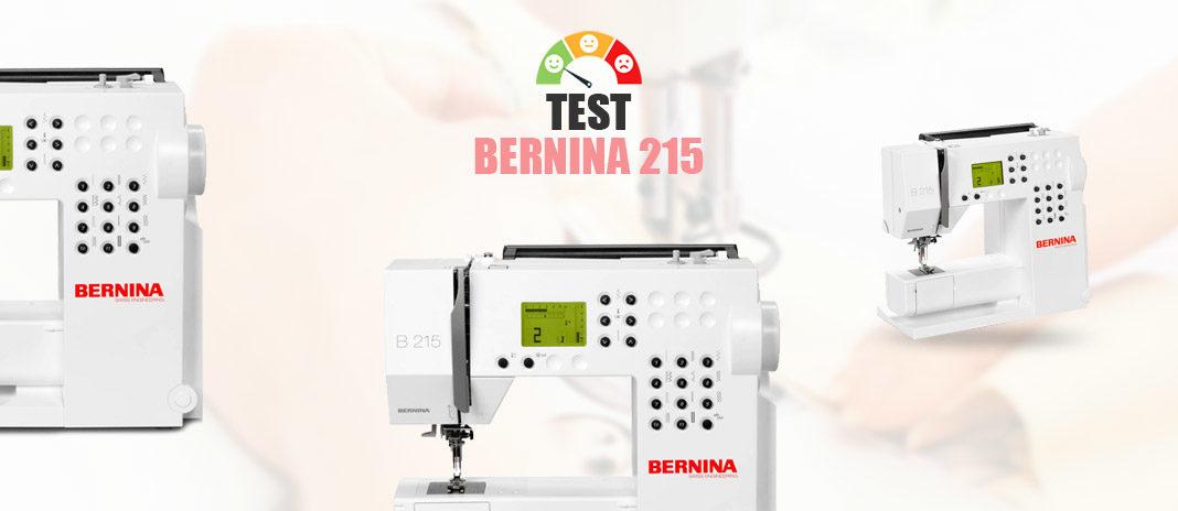 Test bernina215