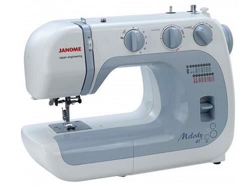 Machine à coudre Janome Melody 41