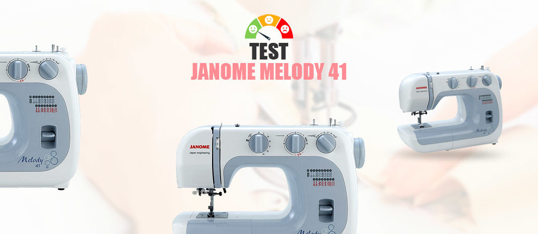 test janome melody 41