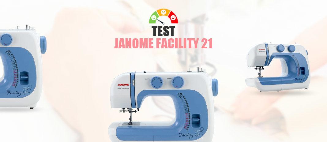 test janome facility 21